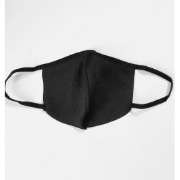 Musta kangasmaski 5-kpl